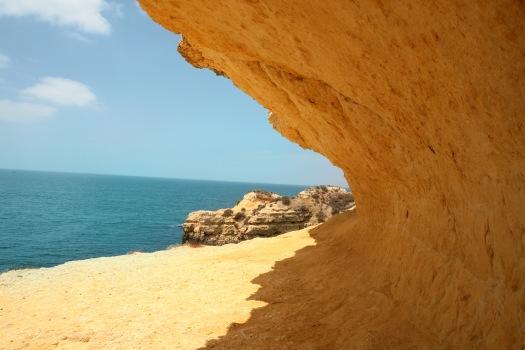 Beach-Cliff-Sand