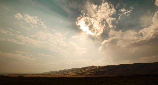 Desert Sky Sunrise