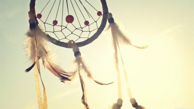 Dreamcatcher in Wind
