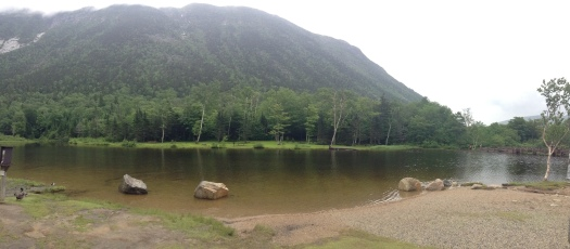 New Hampshire Mountain Panorama