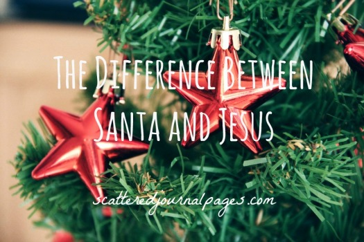 The Difference Between Santa and Jesus
