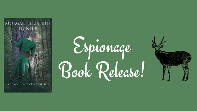 Espionage Book Release!