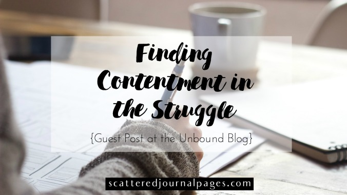 Finding Contentment in the Struggle